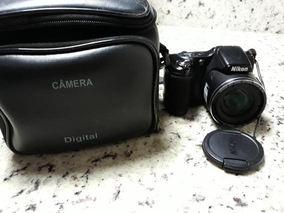 Câmera Digital Nikon Coolpix L820 Preta - 16mp