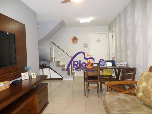 Imagem 1 de 30 de Cobertura Com 3 Dormitórios À Venda, 147 M² Por R$ 1.190.000,00 - Rio 2 - Rio De Janeiro/rj - Co0020