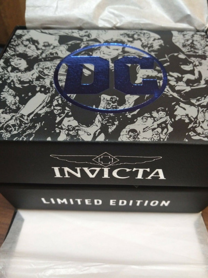 Relógio Invicta Venom Dc Comics Coringa Limited Edition