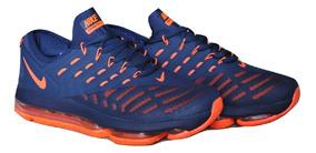 Kp3 Zapatos Caballeros Nike Air Max Dlx 2019 Azul / Naranja