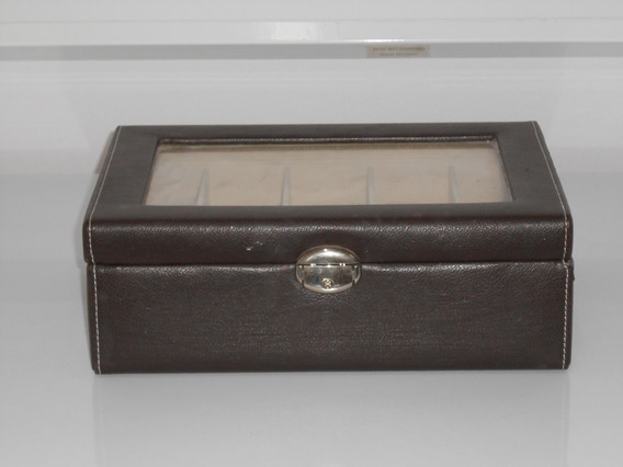 Para Relojes Caja Exhibidor Alajero Relojero Con Almohadill