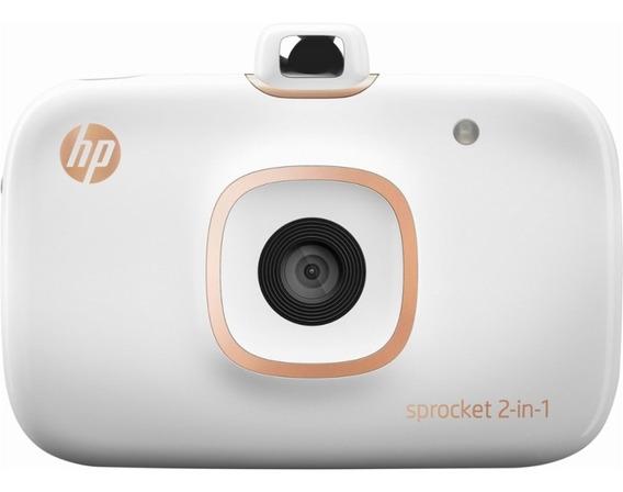 Hp Sprocket 2-in-1 Photo Printer - Câmera E Impressora