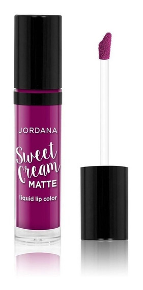 Jordana Labial Matte Sweet Cream Sugared Plum
