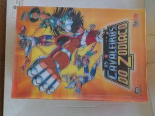 Box Dvd Cavaleiros Do Zodiaco Vol. 6, 7 E 8 Capa Holográfica