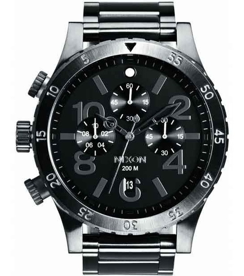 Relógio Nixon Masculino The 48-20 Chrono A486 632 *all Gunme