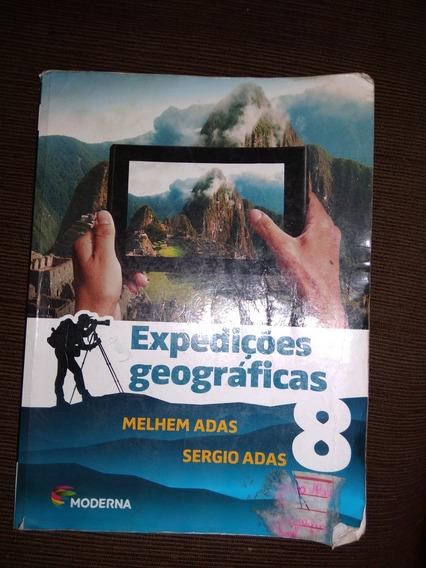 Livro De Geografia Expedicões Geograficas 8