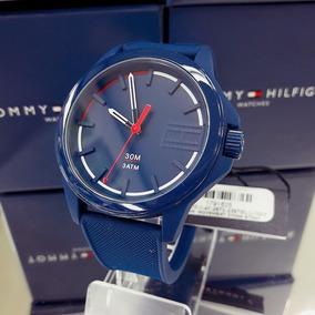 Relógio Tommy Hilfiger 1791625 Silicone Borracha Azul