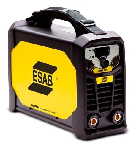 Soldadora Inverter Tig 200 Amp Esab Conarco Dual Lhn 242i