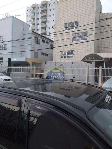 Kitnet Com 1 Dorm, Ocian, Praia Grande - R$ 90 Mil, Cod: Aci1245 - Vact1245