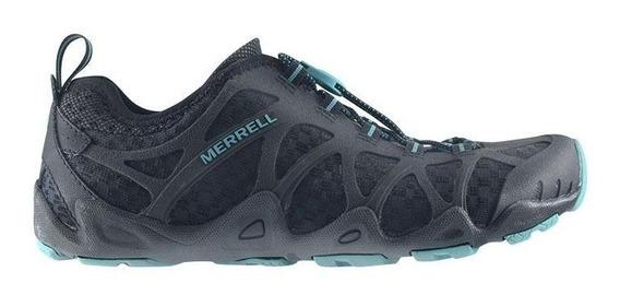 Zapatillas Merrell Aquaterra Con Mesh Y Elastico Regulable