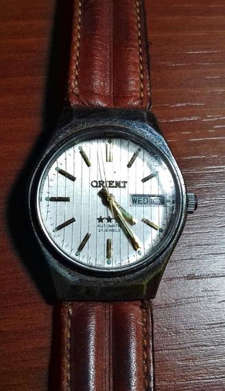 Relógio Usado Orient Zfm-195 Em Bom Estado