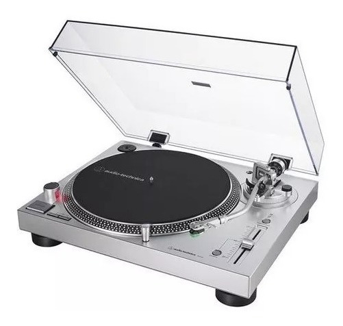 Toca Discos Audio Technica Lp 120x Usb Prata/bivolt