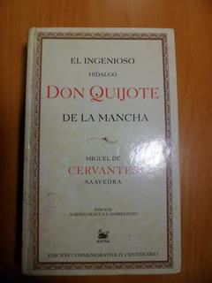 Don Quijote De La Mancha Tapa Dura