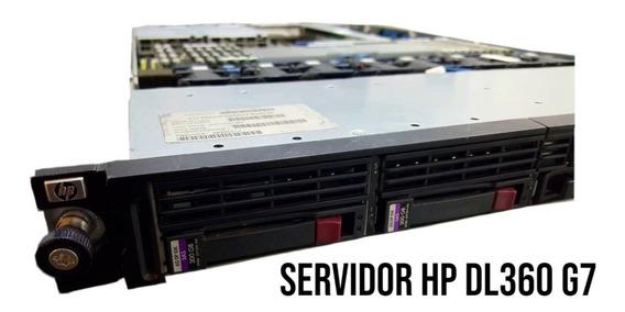Servidor Hp Excelente Produto Ver Configuração Completa Nf