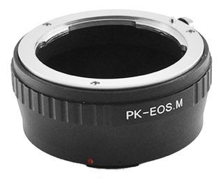 Adaptador De Lentes Pentax A Canon M (mirrorles) Pk- Eos