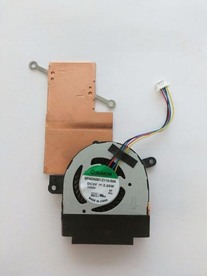 Cooler Com Dissipador Netbook Asus R103b