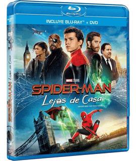 Blu Ray + Dvd Spider-man Lejos De Casa