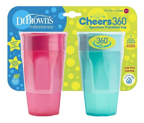 2 Vasos De Transición Dr Browns 360