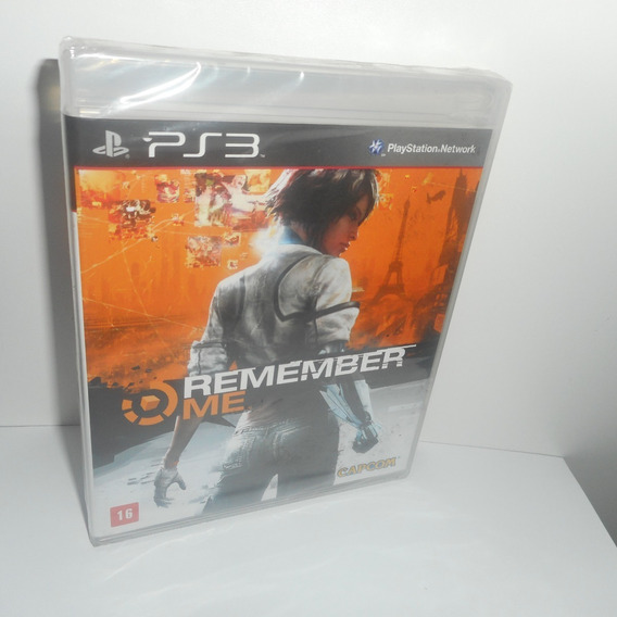 Remember Me Ps3 Mídia Física Novo Lacrado