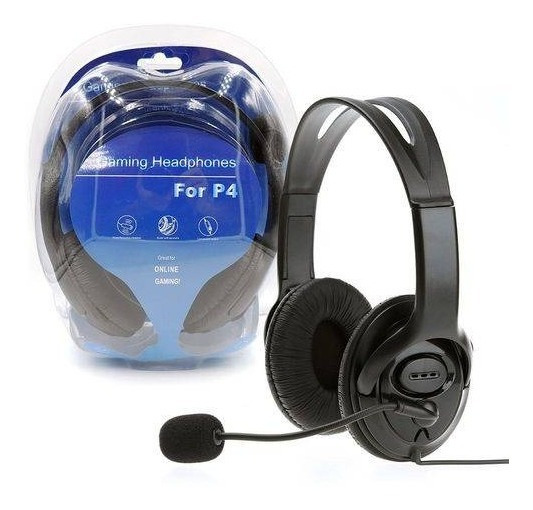 Fone Headset Gamer Fone Para Playstation 4 Ps4 Com Microfone