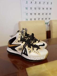 Tenis Nike Lebron X Ps Elite Talla 27cm - 9us Usados