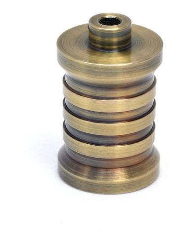 Imagen 1 de 9 de Portalampara Metalico Rocket Calidad Bronce O Cobre