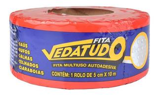 Fita Asfáltica Auto Adesiva Metalizada Vedatudo 5 Cm X 10m