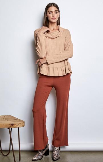 Pantalon Susana Mirta Armesto Tramado Premium