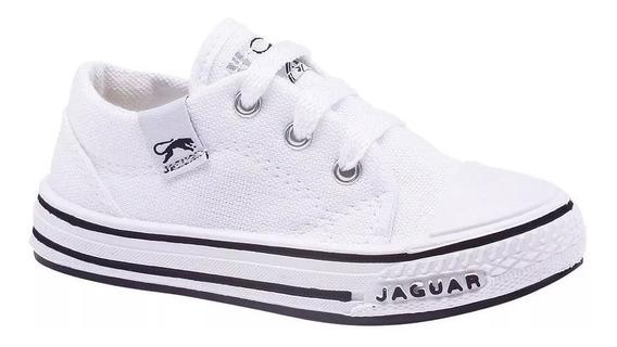 Zapatillas Jaguar Niños Niñas Lona 19/33 Envio Gratis