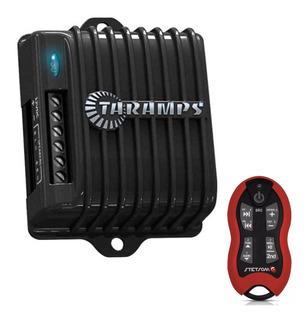 Modulo Amplificador Taramps Ds160x2 160w + Controle Vermelho