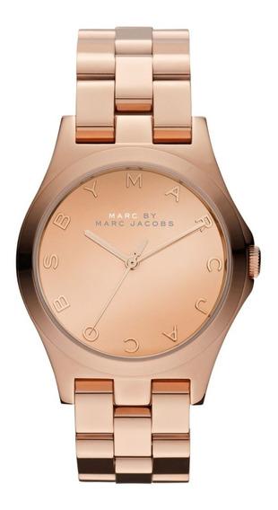 Relógio Marc Jacobs Henry Glossy Rosê Mbm3212