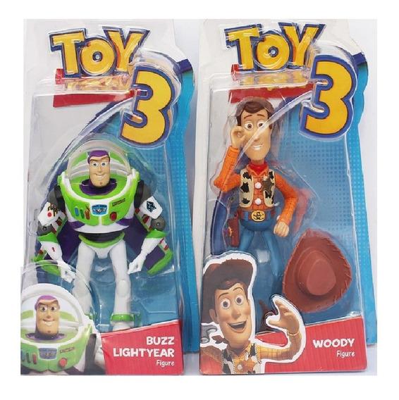 Boneco Woody E Buzz Lightyear Articulado Disney