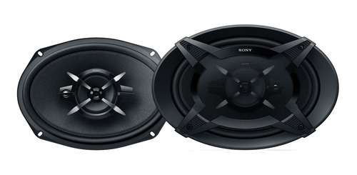 Parlantes Sony Coaxiales De 16 X 24cm  Y 3 Vías