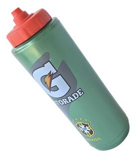 Garrafinha Squeeze Gatorade 1l Licenciado Seleção Brasileira
