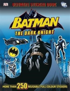 Libro Batman The Dark Knight Ultimate Sticker Book