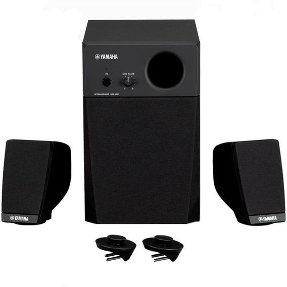 Caixa De Som Sistema Falantes Yamaha Teclado Genos Gns-ms01