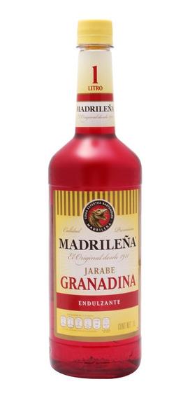 Jarabe Madrileña Granadina De 1 Lt