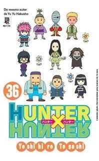 Mangá Hunter Hunter Nº 36
