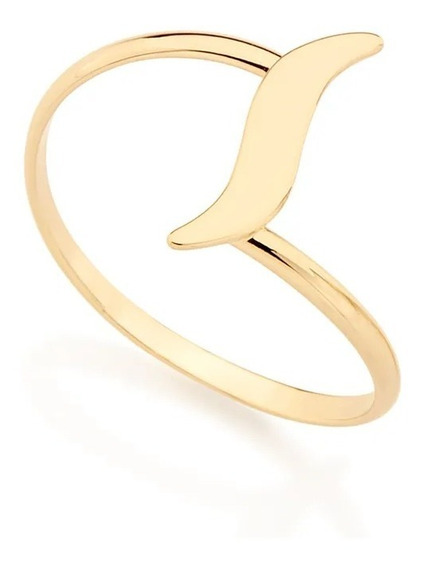 Anel Rommanel Skinny Ring Formato Espiral S 511964