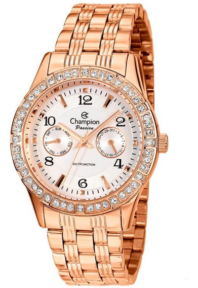 Relógio Feminino Champion Ch38388z Barato Original Garantia