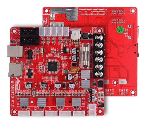Imagen 1 de 8 de Placa Madre Anet A1284-base V1.7 Base