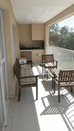 Apartamento Com 3 Dormitórios À Venda, 132 M² Por R$ 790.000,00 - Jardim Das Indústrias - São José Dos Campos/sp - Ap1047
