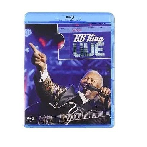 B.b. King Live - Blu-ray - Gravado No B.b.king Blues Club