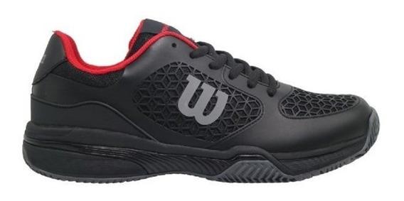 Zapatillas Wilson Tenis Match Mens Clay Hombre Black 2019
