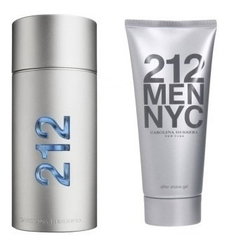 Kit Perfume Ch 212 Men Nyc Vip 100ml + After Shave