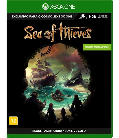 Jogo Mídia Física Sea Of Thieves Original Para Xbox One