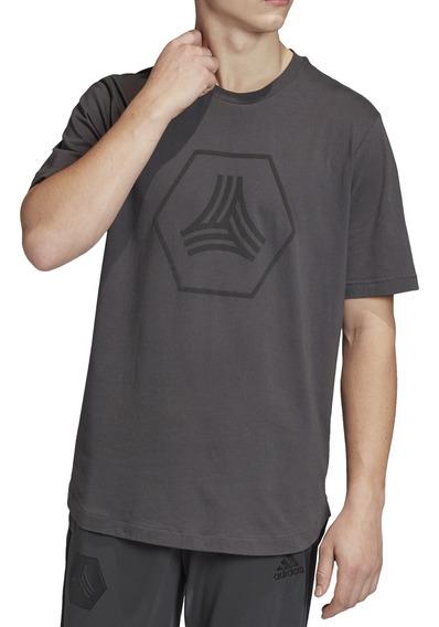 Remera adidas Futbol Tan Logo Hombre Go