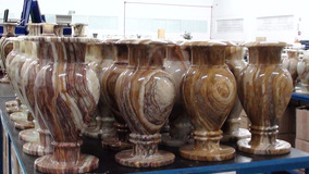 Vasos Pedra Ônix Paquistanesa 20x37cm Frete Grátis