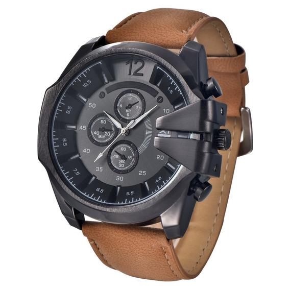 Relógio Masculino Esportivo Xi Men Marrom Promoção!!!