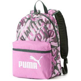Mochila Infantil Puma Phase Feminina - Rosa - Original